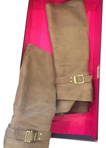 Vince Camuto Wedge Taupe Boots