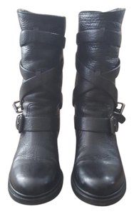 Miu Miu Black leather Boots