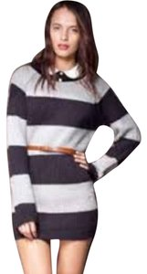 Motel Rocks Striped Dress Cute Sweater