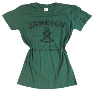 Jameson Whiskey Staff T Shirt Green