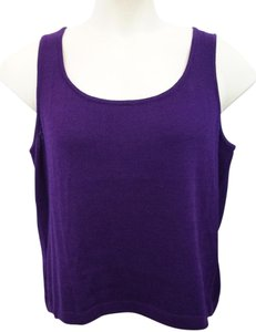St. John St Purple Knit Top