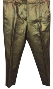 J.Crew Relaxed Pants Gold