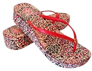 Tory Burch Red Currant Sandals