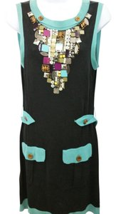 Nanette Lepore short dress Black Knit on Tradesy