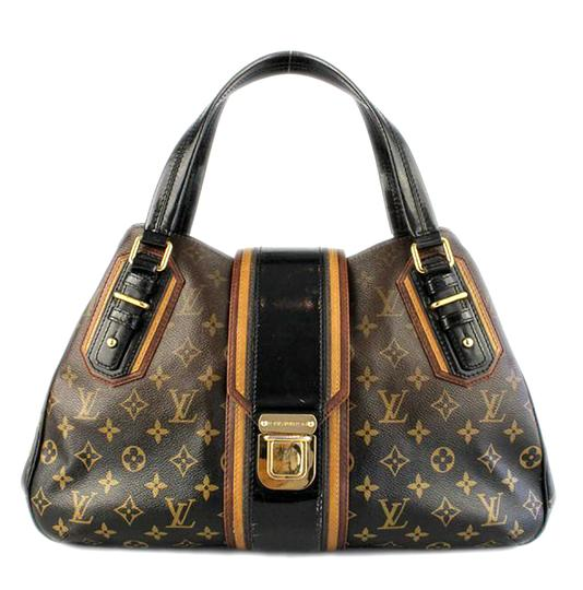Preload https://item3.tradesy.com/images/louis-vuitton-limited-runway-edition-mirage-griet-monogram-canvasleather-satchel-1951872-0-5.jpg?width=440&height=440