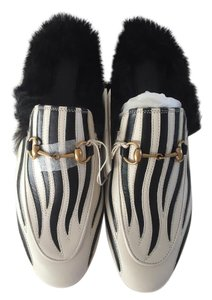 Gucci Black/White Mules