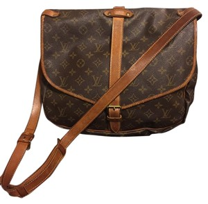 Louis Vuitton Lv Monogram Brown Messenger Bag