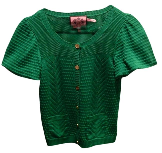 Preload https://item2.tradesy.com/images/juicy-couture-green-sweaterpullover-size-petite-2-xs-1951886-0-0.jpg?width=400&height=650