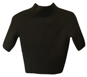 Theory Turtleneck Cropped Cashmere Sweater