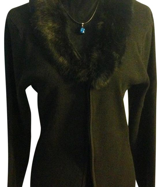 Item - Black Hare and There W167572864-uw Cardigan Size 20 (Plus 1x)