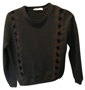 Sandro Cut-out Paris Lounge Wear Sweatshirt