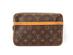 Louis Vuitton Compiegne 23 Monogram Canvas Toiletry Dopp Travel Bag w/ Dustbag