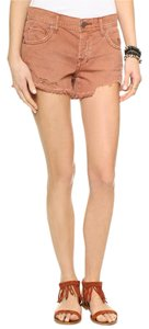 Free People Anthropologie Cut Off Shorts Dusty rose