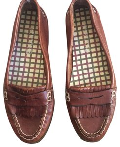 Sperry Leather Boat Flats