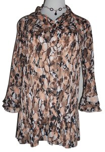 Dress Barn Top multi-color