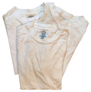 Other Free Ship Lot of 3 Crewneck White T-shirts
