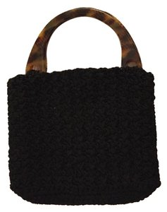 Carrie Forbes Black Clutch