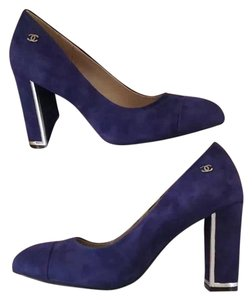Chanel Blue Pumps