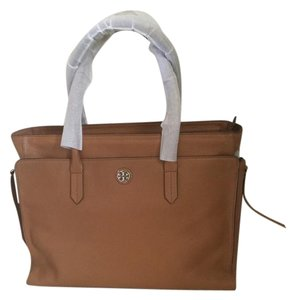 Tory Burch Dust Tote in Tan