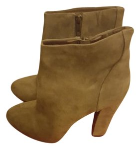 SoleSociety Platform Bootie Chunky Olive Green Boots