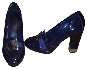 Tory Burch Blue Platforms