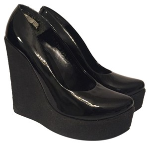 Walter Steiger Black Wedges