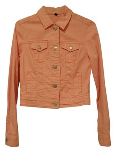 American Eagle Outfitters Denim Coral Womens Jean Jacket