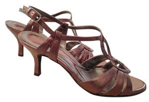 Naturalizer Bronze Sandals