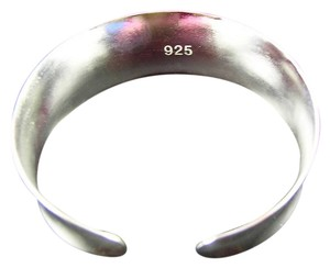 Sears This is a Wide Sterling Silver 7 inch Bangle Bracelet, Marked 925 Sterling, 9.8 gms. (2 Available)