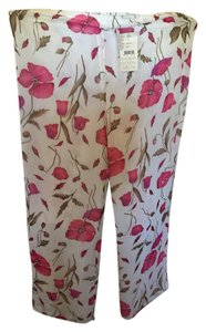 Sigrid Olsen Comfortable Relaxed Pants floral