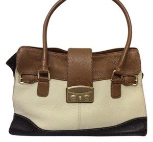 Nine West Leather Colorblock Shoulder Bag