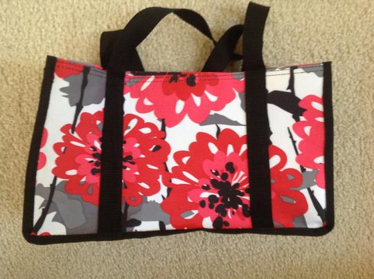 Other Tote in Pink, Red, Black, and White Image 3