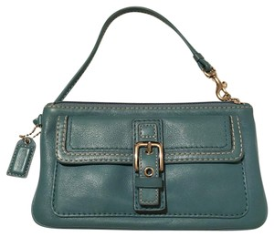 Coach Wristlet in Turquoise
