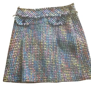Trina Turk Skirt Black/white Multi
