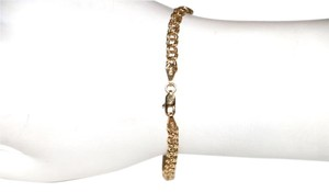 Other 14K YELLOW GOLD CHAIN LINK BRACELET