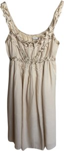 Max Studio short dress gold Limited Edition Leon on Tradesy