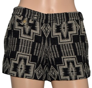 Pendleton Shorts Black / Gray Wool