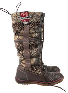 Pajar Winter Snow Brown Rubber Boots