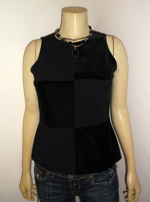 Laundry by Shelli Segal Size 6 P1228 Top black