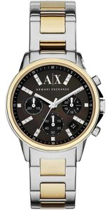 A|X Armani Exchange Armani Exchange Women's Lady Chronograph Stainless Steel Watch AX4329