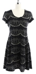 Urban Outfitters Fit And Flare Lacey Lacy Flowy Crocheted Dress