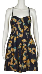 Free People Womens Printed Dress