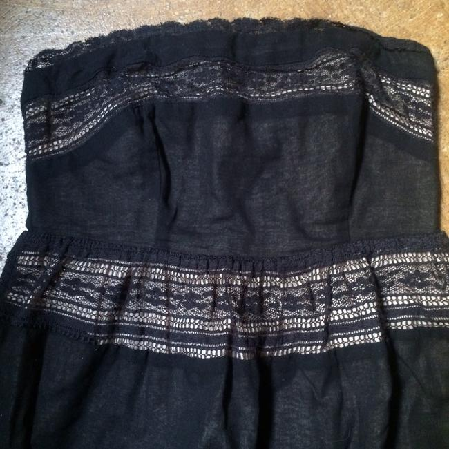 Pins and Needles short dress Black Urban Outfitters Lbd Lace on Tradesy