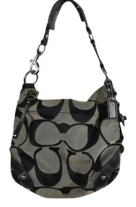 Coach Womens Monogram Hobo Bag