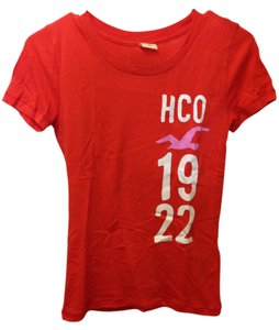 Hollister Comfortable T Shirt Orange