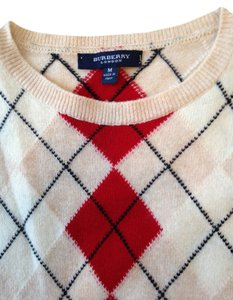 Burberry London Women's Argyle Sweater