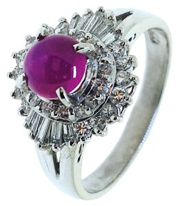 Other Platinum Ruby Diamonds Ring