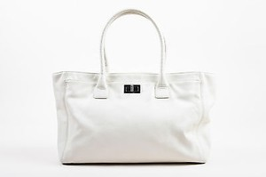 Chanel Leather Tote in Cream