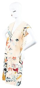 Etro short dress Multi-Color Beige Multicolor Silk on Tradesy