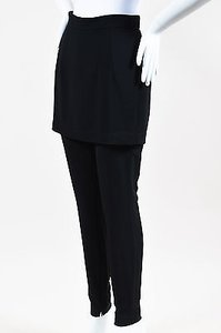 Dolce&Gabbana Layered Straight Zip Leg Trouser Pants